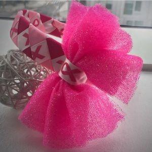 New Custom Made Breast Cancer Awareness Headband